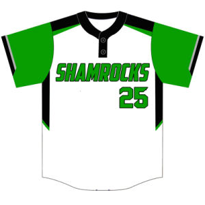Custom Youth Dye Sublimation Baseball Shirt for Teams pictures & photos