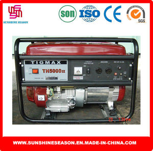 3kw Tigmax Th5000dx Petrol Generator Key Start for Power Supply pictures & photos