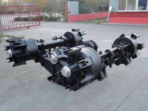 Bogie Suspension with Spokes Axle /Drum for Trailer pictures & photos