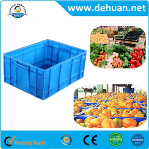 Transportation Plastic Stackable Turnover Box Supplier pictures & photos