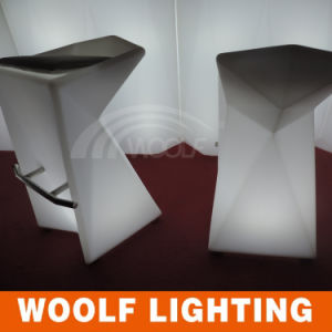 Club Modern Illuminated Light up LED Bar Stool pictures & photos
