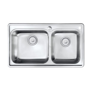 Oppein Easy Cleaning Stainless Steel Kitchen Sink (OP-PS621A-TC) pictures & photos