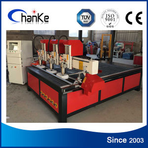 3 Spindle Wood Machine CNC Router for Door Window Acrylic pictures & photos
