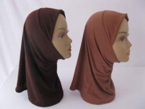 Classic Headcover Muslim Women Bonnet Scarf Stock X-162