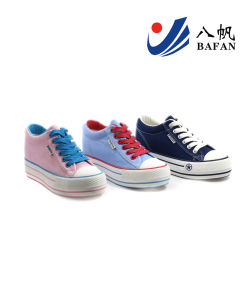 Canvas Shoes Casual Shoes Lady′s Shoes (BFM0316) pictures & photos