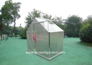 4mm Growell Walk -in Polycarbonate Greenhouses (6′ X 6′ SP606) pictures & photos