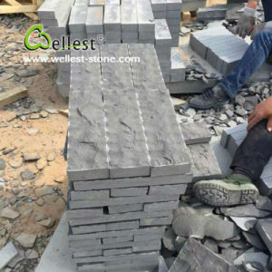 Mongolia Black Granite and Basalt Paving Stone Natural Split pictures & photos