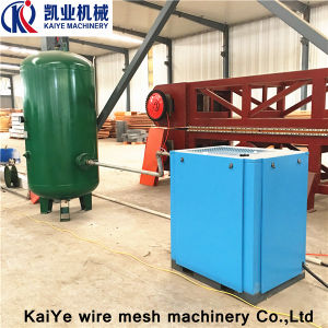 Automatic Galvanized Wire Mesh Welding 3D Wall Panel Machine pictures & photos