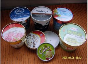 Icecream Cup Paper Lid Machine