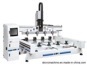 Newly Design CNC Rotary Engraving Machine with CE Approved (SK-RVG3012*4)