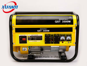 High Quality 2500W 7HP 100% Copper Wire Electric Start Petrol/Gasoline Generator pictures & photos
