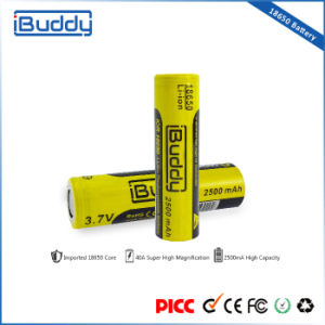 Factory Promotion Rechargeable 18650 Battery 2500mAh for Box Mod pictures & photos