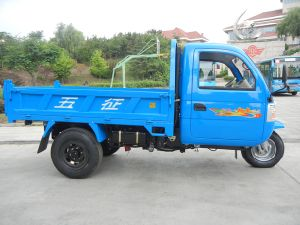 Wuzheng Tri-Wheel Truck with Air Brake pictures & photos