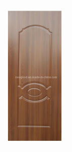 HDF/MDF Melamine Molded Door Skin pictures & photos