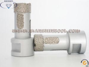 22mm M14 Dry Diamond Drill Bit Holesaw for Granite Ceramic pictures & photos