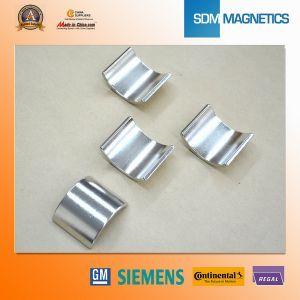 Hot Sale Strong Ferrite Arc Magnets for Motorcycles pictures & photos