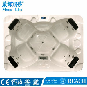 Popular Mini Double Use Whirlpool Massage SPA Hot Tub (M-3374) pictures & photos