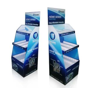 Professional Cardboard Floor Display with 4c Offset Printing for Stationery Products, Pop Display Stand pictures & photos