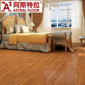 Orange Color Silk Surface HDF Laminate Flooring pictures & photos