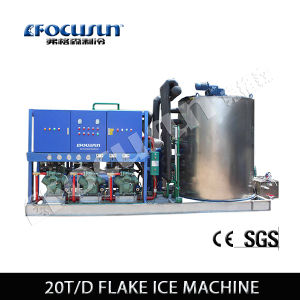Shanghai Factory Price Focusun Seawater Flake Ice Machine pictures & photos