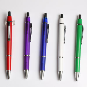 Surperb Writing Tools Cheap Promotional Gift Plastic Ball Pen (EN-P1133)