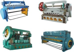 Mechanical Over Crank Shearing Machine pictures & photos