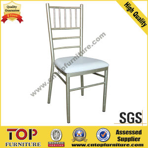 Aluminum Stacking Tiffany Chair for Wedding Banquet pictures & photos