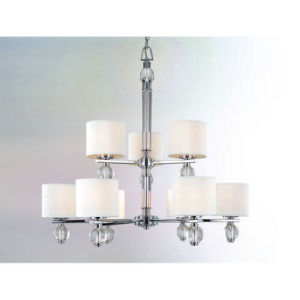 Modern Pendant Lamp Glass Chandelier for Living Room Decoration (112611)