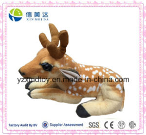 High Quality Natural Animal Lifelike Deer Plush Toy pictures & photos
