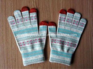 100% Acrylic Magic Sublimation Printing Touch Screen Gloves pictures & photos
