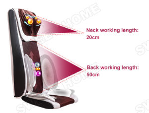 Luxury Body Care Neck Back Buttocks Shiatsu Massage Cushion Chair pictures & photos