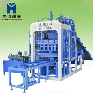 Qt4-15 Concrete Block Making Machine and Manufacturing Machine