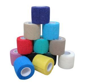 Latex-Free Non-Woven Cohesive Bandage