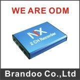 SD Card Car Mobile Motion Detection 2CH Car DVR pictures & photos