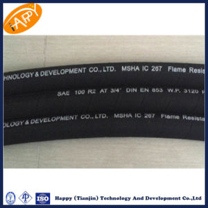 R2 / 2sn Two Wire Braid Hydraulic Rubber Hose pictures & photos