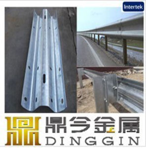 Rich Zinc Coated Highway Guardrails pictures & photos