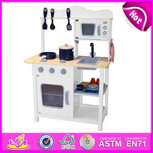China 2014 new wooden play kitchen popular kids toy play for Kids kitchen set sale