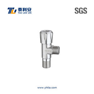 Deluxe Stainless Steel Angle Valve (T1079) pictures & photos