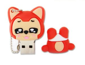 New Products Ali Rubber USB Case/ USB Flash Drive / Soft PVC USB Cover (CMT-ES17) pictures & photos