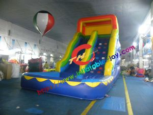 Best Quality Inflatable Water Slide with Pool pictures & photos