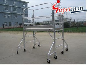 Mobile Aluminum Scaffold with CE pictures & photos