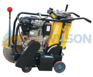 Wacker Concrete Cutter/Floor Saw with Electric Start 186f Diesel Engine pictures & photos