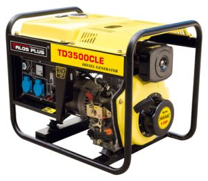 3 kVA Portable Diesel Generator / Single Phase Portable Generator (TD3500CLE) pictures & photos