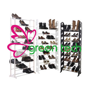 2015 New Saving Space Tower Rack/Ptactical Standing 10 Tier Shoe Orgnization/Eco-Friendly Home Storage Shoes Hanger