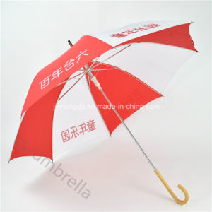 "Auto Open19"" Logo Printed Promotion Straight Umbrella for Advertising (YSS0128) pictures & photos"