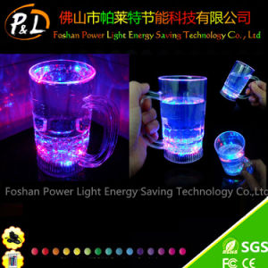 Custom Popular Plastic Flashing Light LED Cup for Bar Decoration pictures & photos