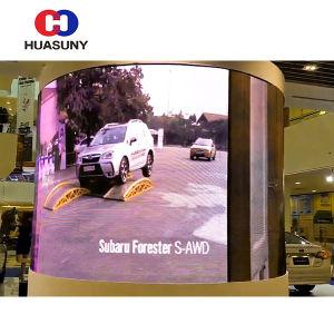 Creative Cylinder Flexible HD LED Display