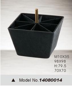 Black Plastic Furniture Leg, Bed Leg, Sofa Leg (14080014) pictures & photos