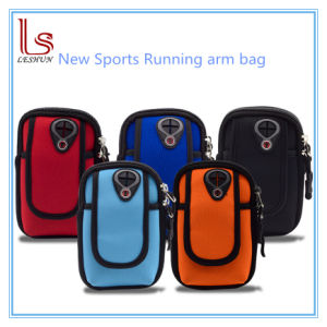 Wholesale Waterproof Mobile Phone Armband Bags with Thicker Shockproof pictures & photos
