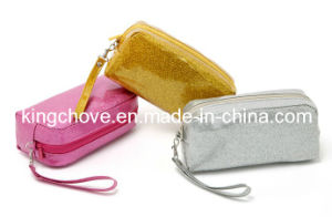Glitter PU Material Cosmetic Bag / /Cosmetic Pouch / Fashion Bag (KCC50) pictures & photos